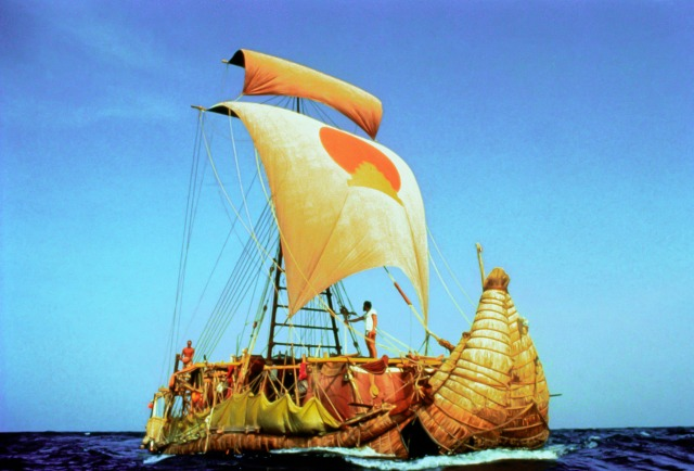 L'uomo del Kon – Tiki, una zattera nell'Oceano Pacifico