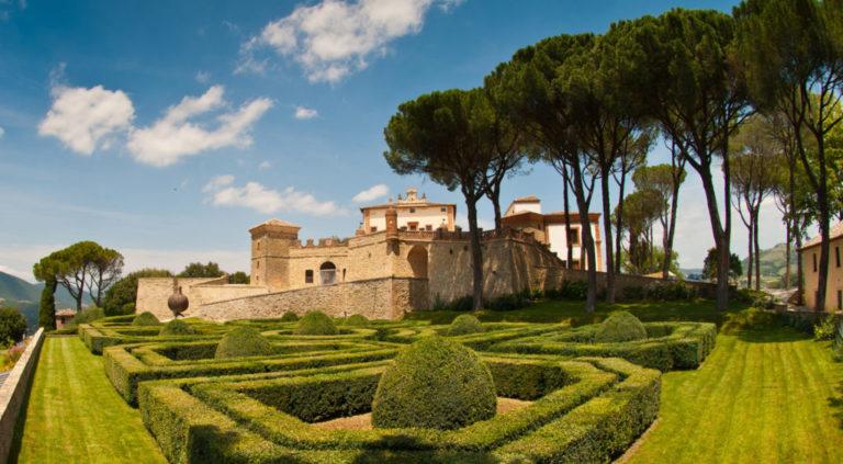 Il Castello di Solfagnano. L'Umbria e il bel paesaggio