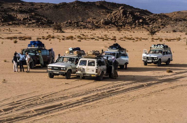Algeria, fra le dune dell'Acacus algerino nel deserto del Sahara