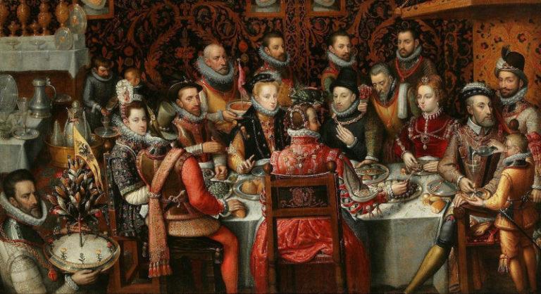 Cibi e bevande nelle feste di Leonardo