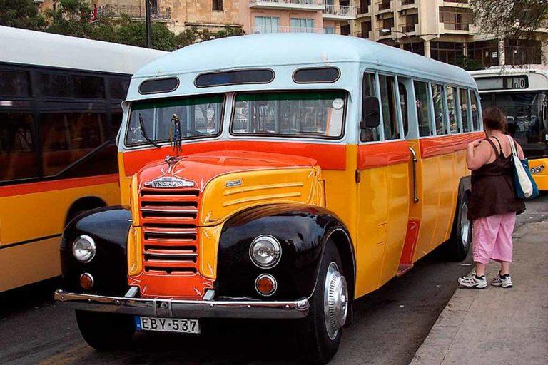 Il mitico Bus 80 di Malta