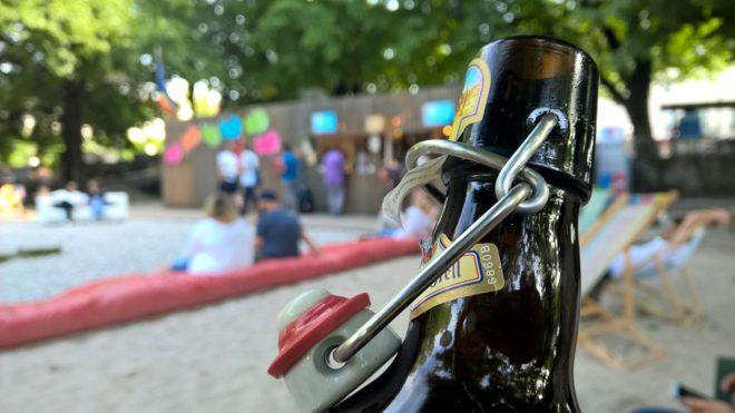 I biergarten di Monaco: l'estate fresca dei giardini della birra